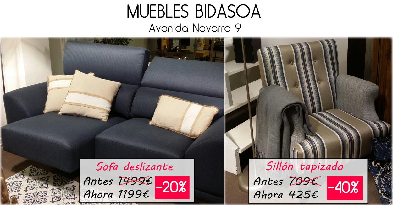 Ofertas Hasta El 40 En Muebles Bidasoa Wasapeo Irun # Muebles Bidasoa